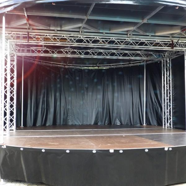 360-Grad-Bühne
