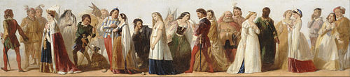 Procession of Characters from Shakespeare's Plays Google Art Project