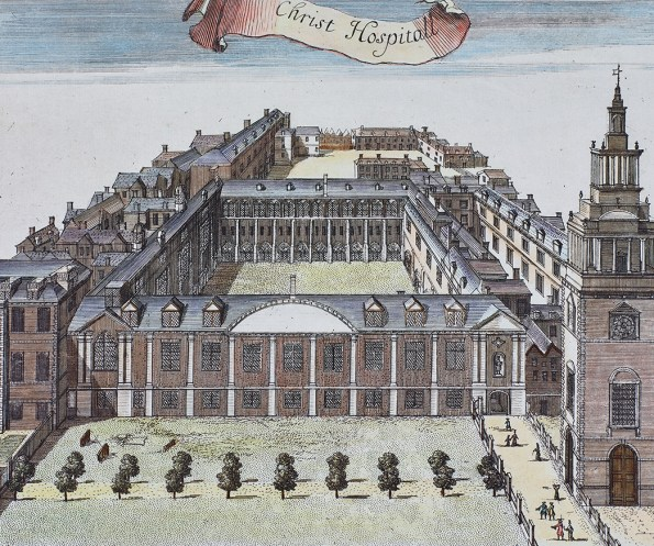 Hand Engraving of Christ Hospital