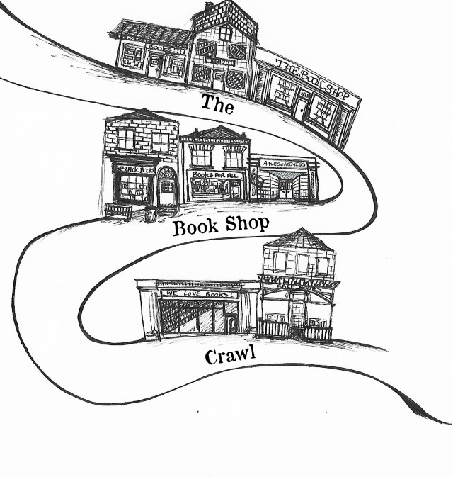 bookshop crawl image