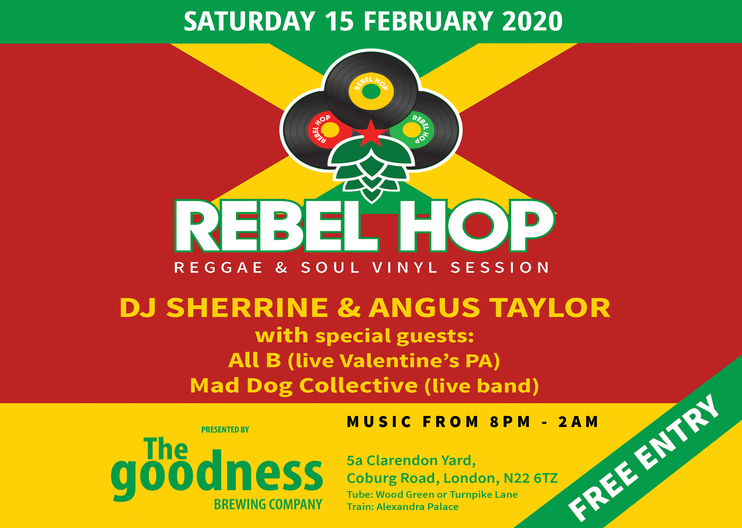 Rebel Hop 15 February 2020 landscape