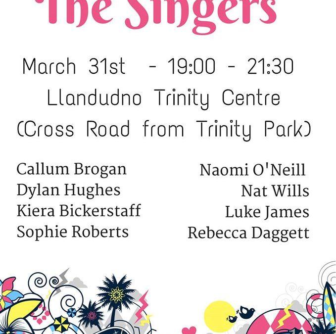 Llandudno Trinity Centre – Battle of the Singers