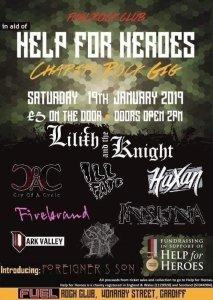 charity rock gig