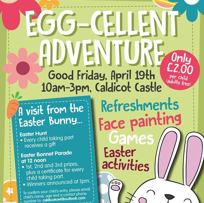 Egg-cellent Adventure at Caldicot Castle