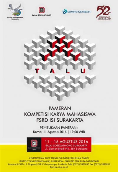 Jadwal Bioskop Surakarta : jadwal, bioskop, surakarta, PAMERAN, RUPA:, KOMPETISI, KARYA, MAHASISWA, SURAKARTA, INSTITUT, INDONESIA