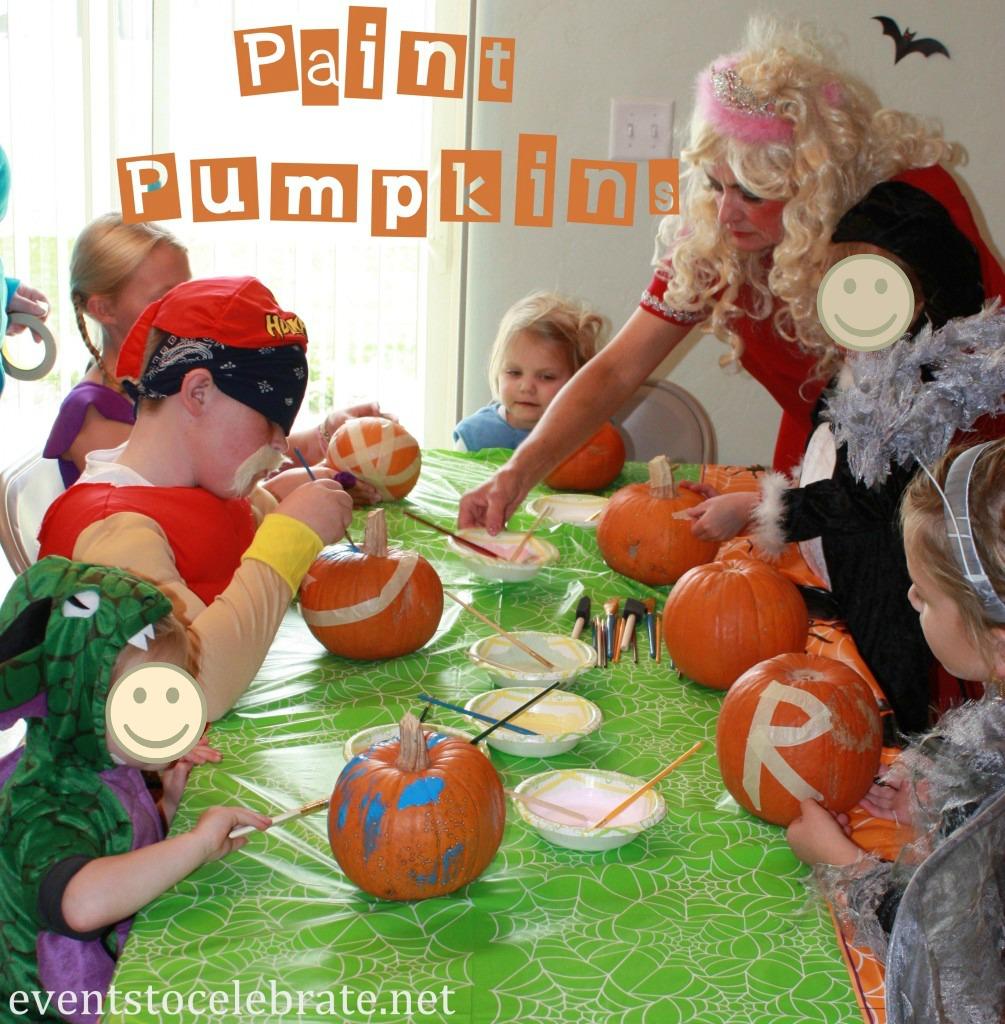 Bottles with halloween labels diy: Halloween Party Activities For Kids