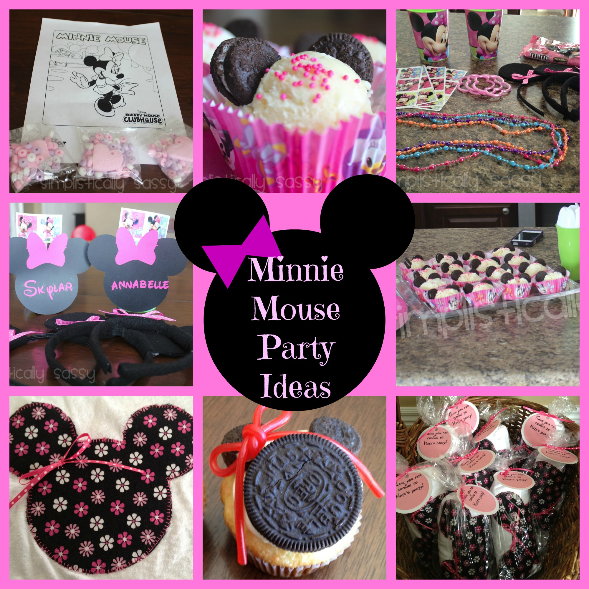 Minnie Mouse Birthday Party Archives