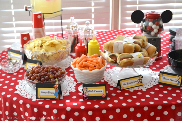 Pluto Themed Birthday Party