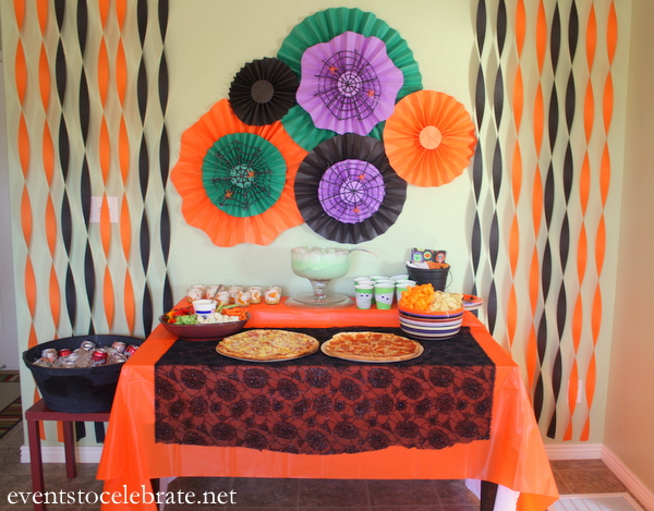 Easy Halloween Party Decorations  events to CELEBRATE