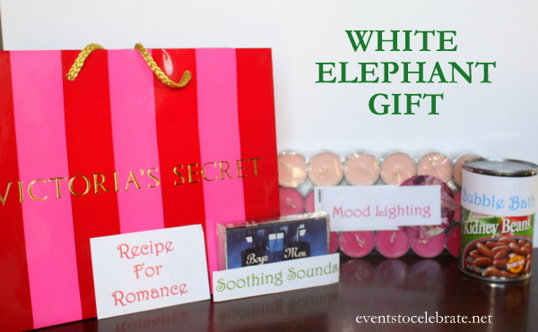 Easy White Elephant Gift Ideas Events To CELEBRATE!