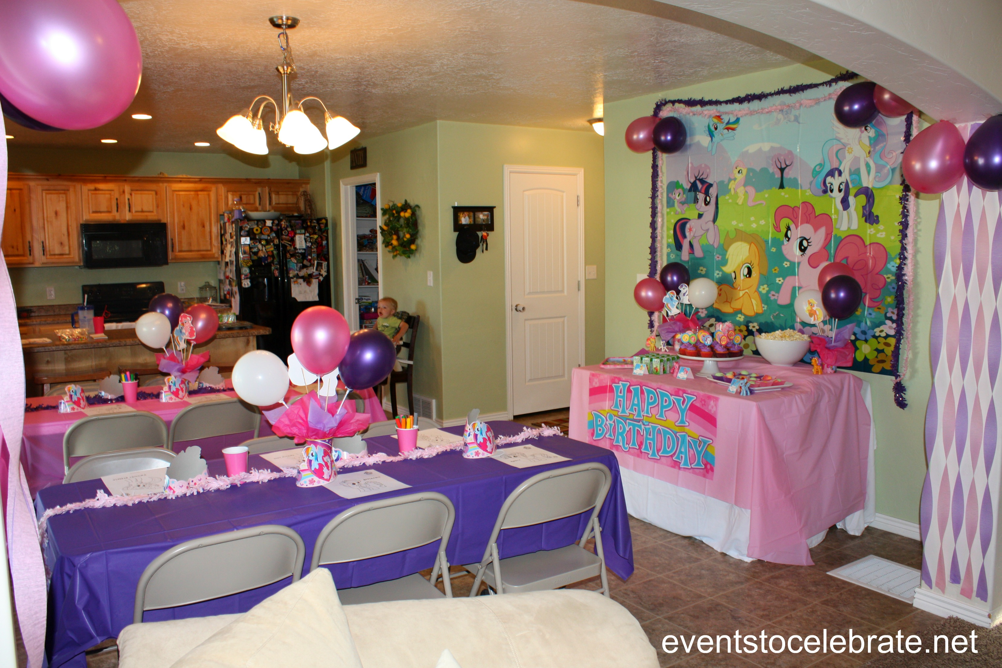 my little pony table and chairs baby swing chair qatar party ideas events to celebrate