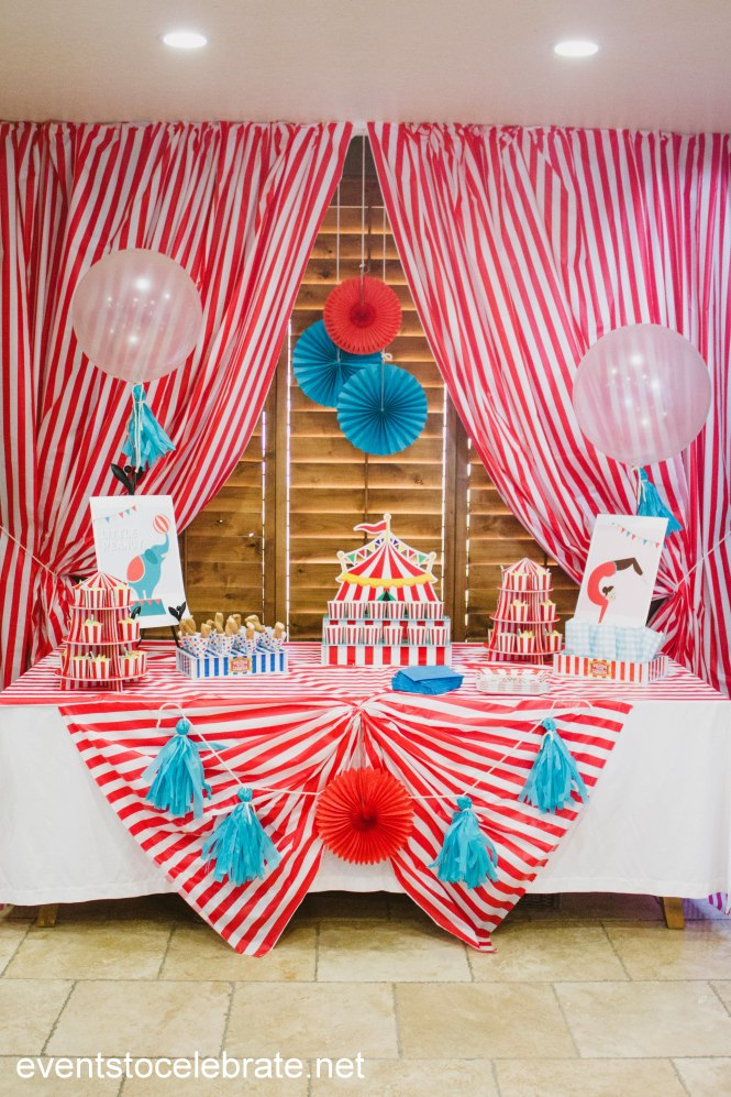Circus Baby Shower Ideas