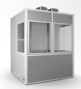 AudiPack 2-person Silent 6300 Interpretation Booth