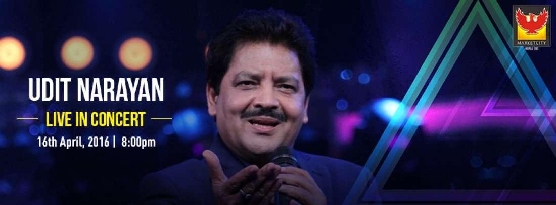 Udit Narayan Live In Concert At Phoenix Market City, Kurla