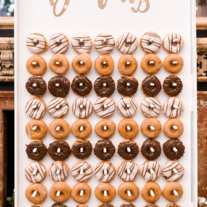 Super Trio! Large Donut Wall, Large Flower Wall & Prosecco Wall Hire