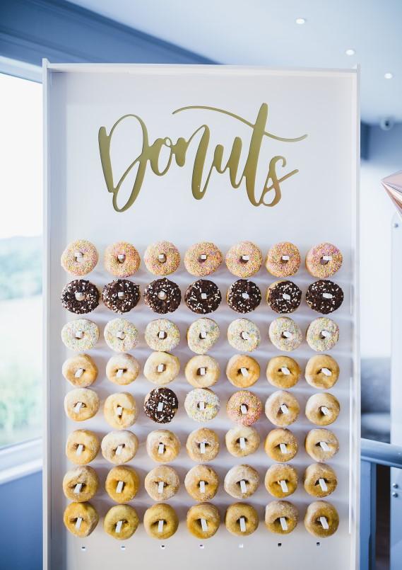 all three  donut wall  flower wall  u0026 prosecco wall hire