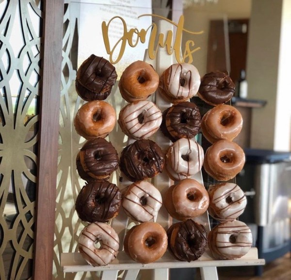 Mini Donut Wall