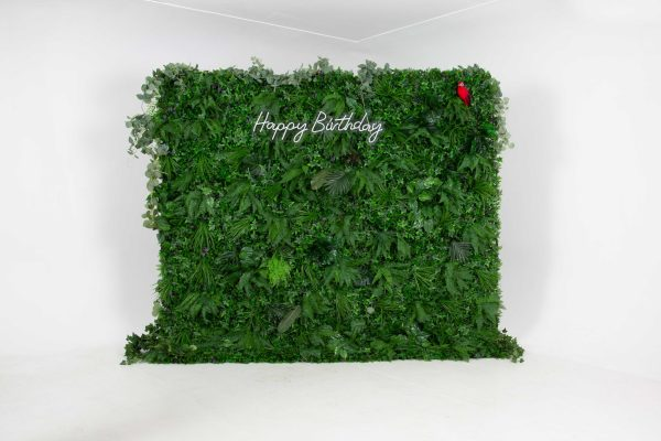 Faux Foliage / Tropical Wall