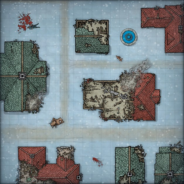 Rime of the frostmaiden free ruined street map