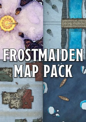Rime of the Frostmaiden Maps
