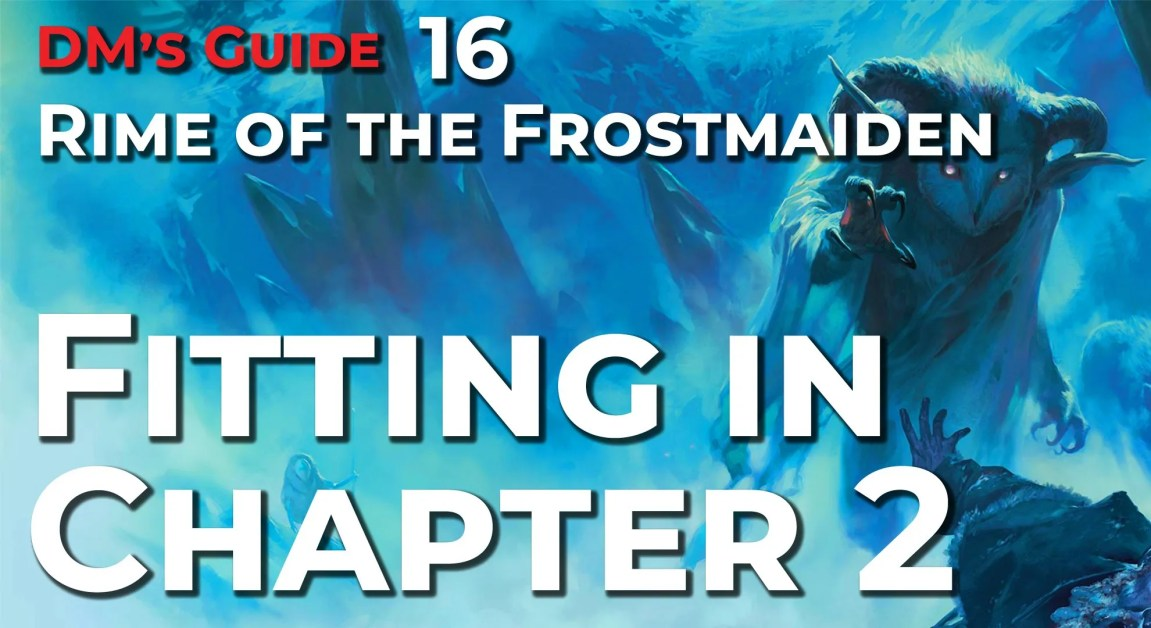 Running Rime of the Frostmaiden