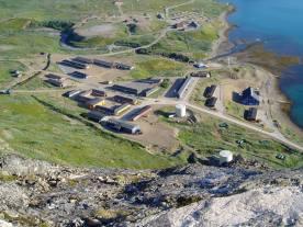 Grønlands Kommando set fra Fjeldet Bratten