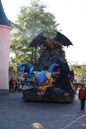 Uhyggelig Halloween parade