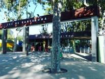 Indgangen til Barcelona Zoo