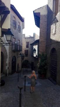 En gade i Poble Espanyol