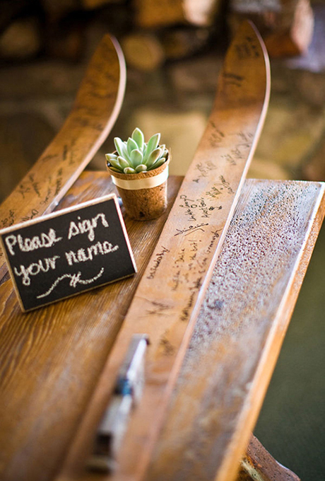 creative ways for guests to bless the newly wed