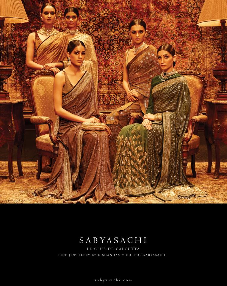 Sabyasachi's Spring Summer Bridal Collection 2016