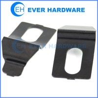 Cabinet hardware hole metal plate black plating sheet