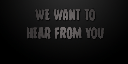 we-want-to-hear-from-you