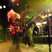 September 27, 2018. Starland Ballroom at Sayreville, NJ. Rock artist Lita Ford and her band perform during concert. All rights reserved Andris Jansons / JM Pressphoto