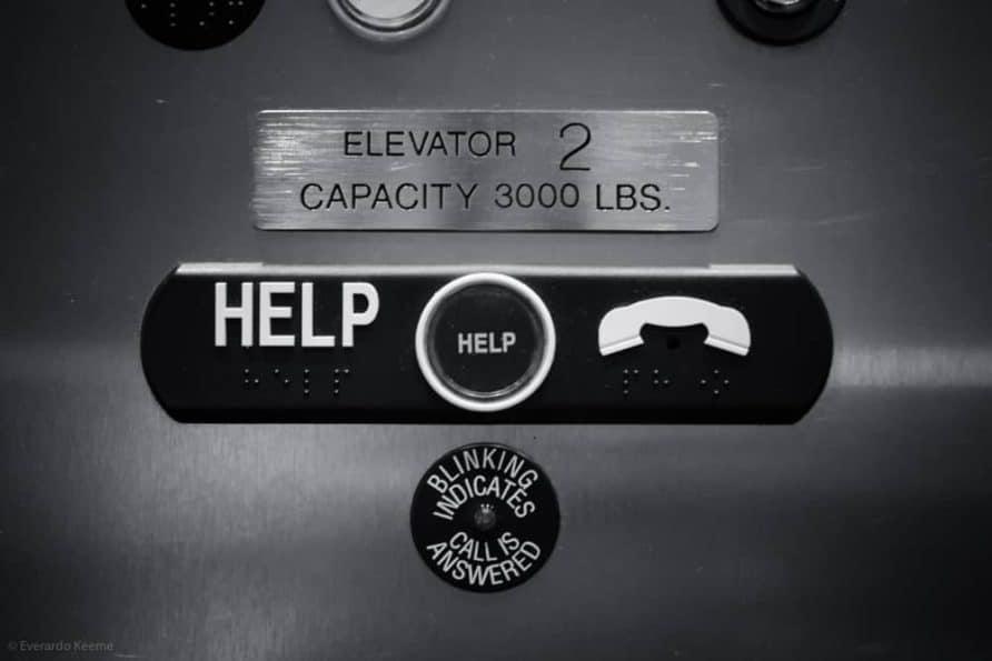 Photographer Stuck in Elevator