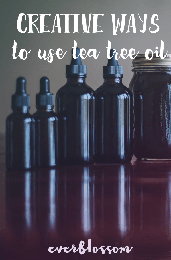 Essential oil bottles | Creative Ways to use tea tree oil