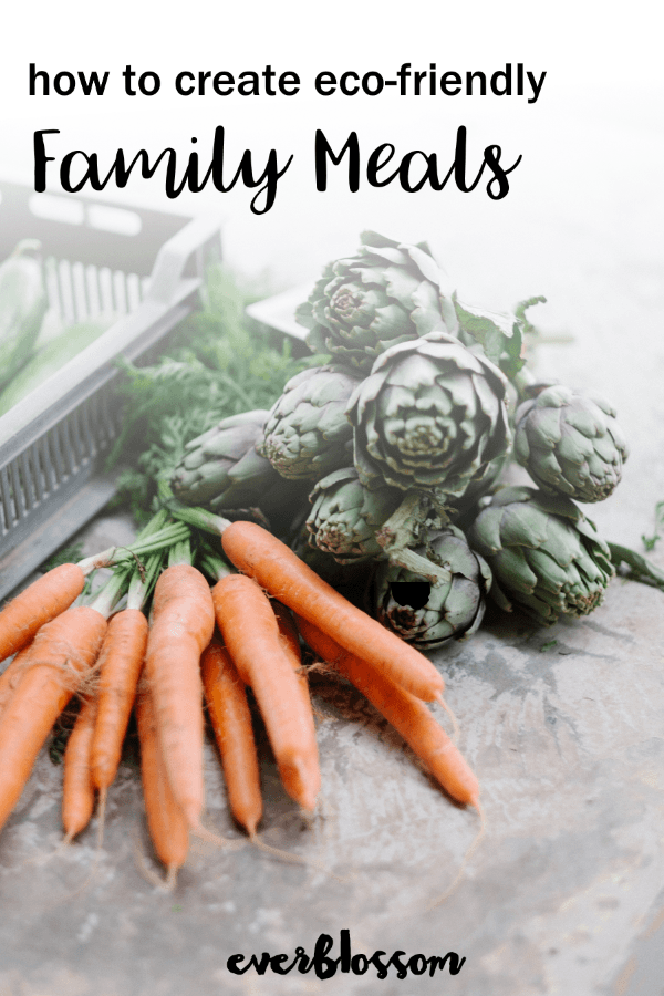 Artichokes and carrots, vegetables. | How to Create Eco-Friendly Family Meals