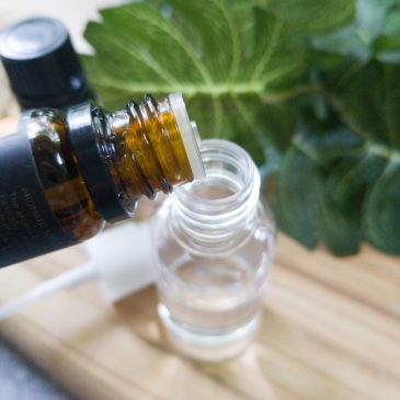 DIY essential oil bug spray
