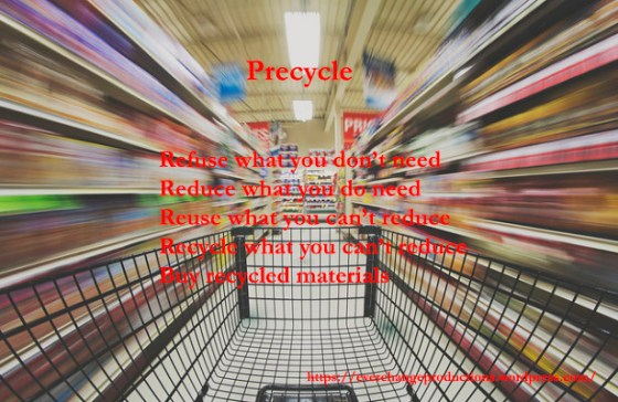 The Basic Rules of Precycling