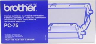 Brother Toner+Ribbon PC75