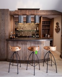 25+ Contemporary Home Bar Design Ideas | EverCoolHomes