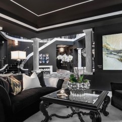 Black And White Living Rooms Decorate Room With Sofa 20 Inspiring Designs Evercoolhomes Ideas
