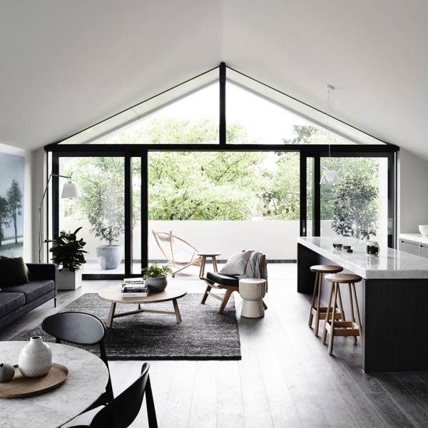 living room big window furniture for the 20 inspiring black and white designs evercoolhomes ideas