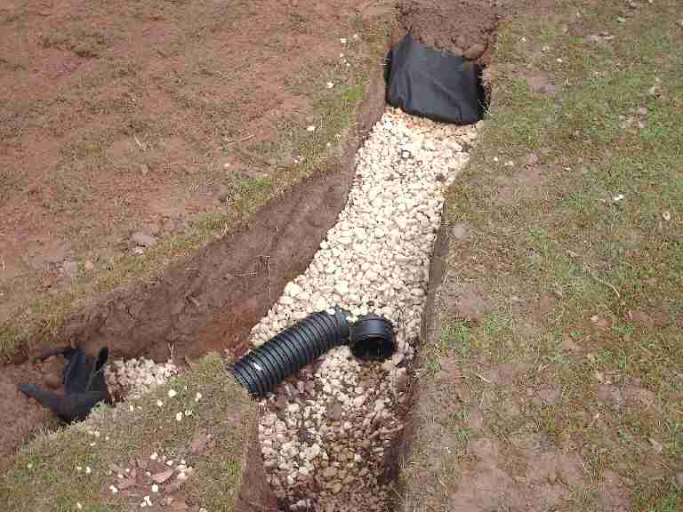 french drain system everdry