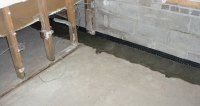 Interior Basement Waterproofing