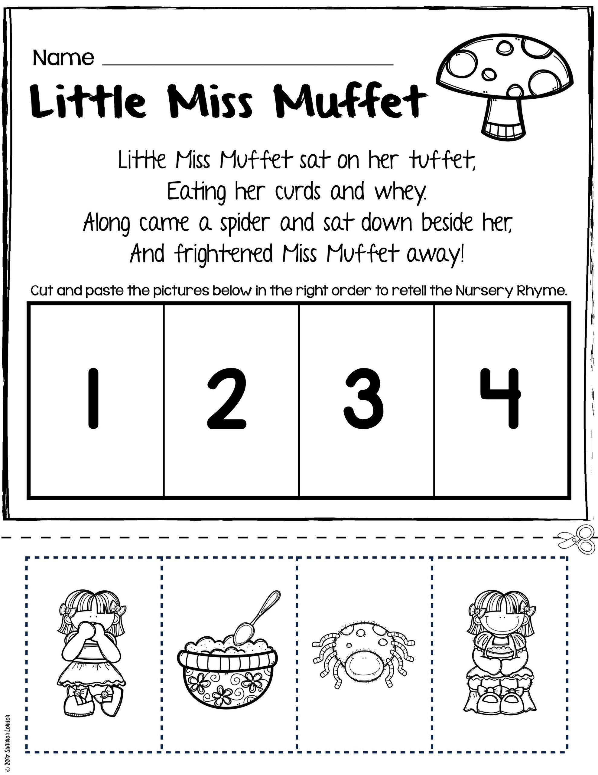 Dr Seuss Rhyming Worksheets Kindergarten Worksheet For