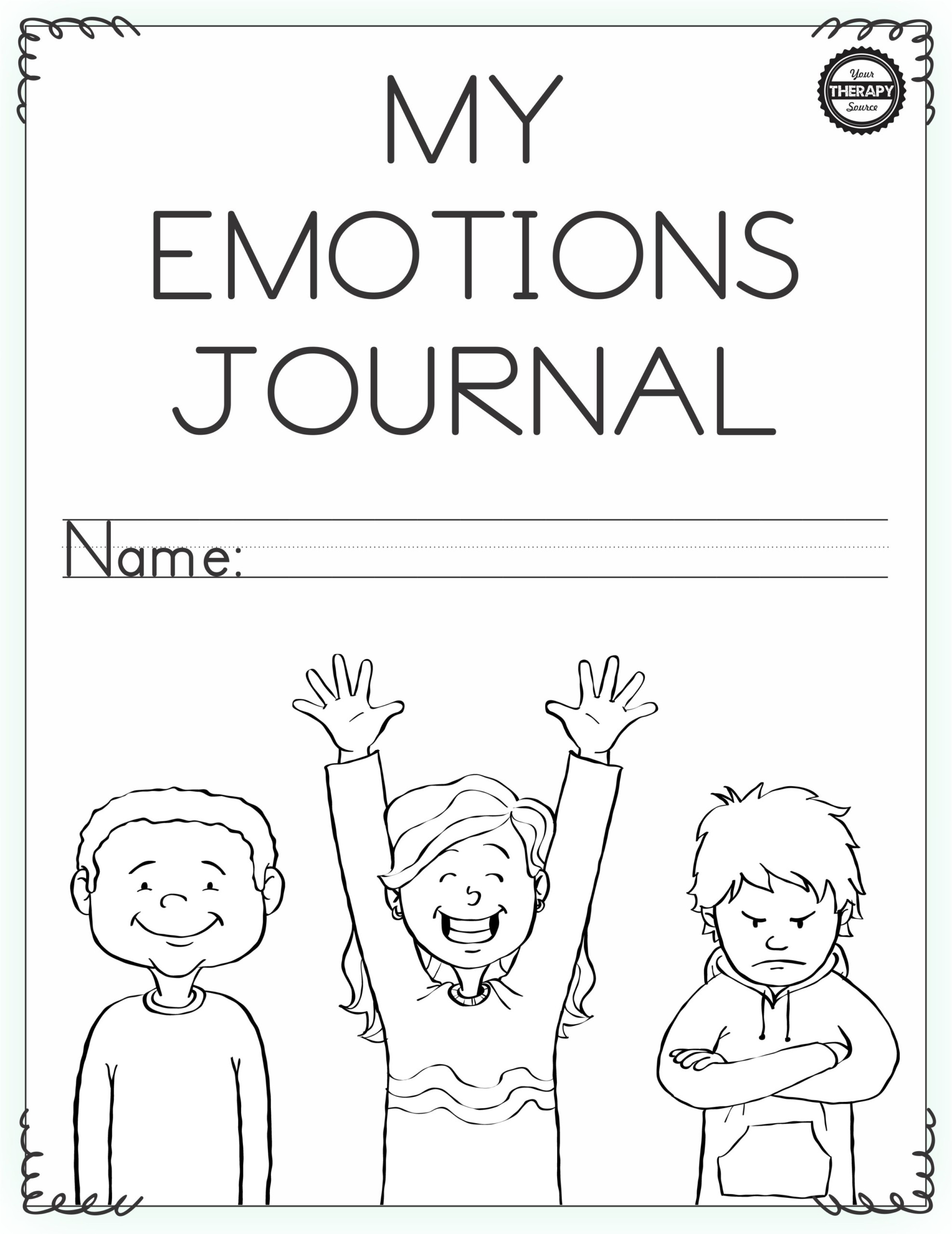 Feelings Worksheet For Kindergarten