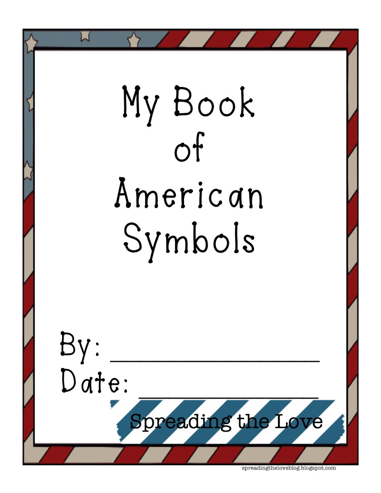 Kindergarten American Symbols Worksheet Worksheet For