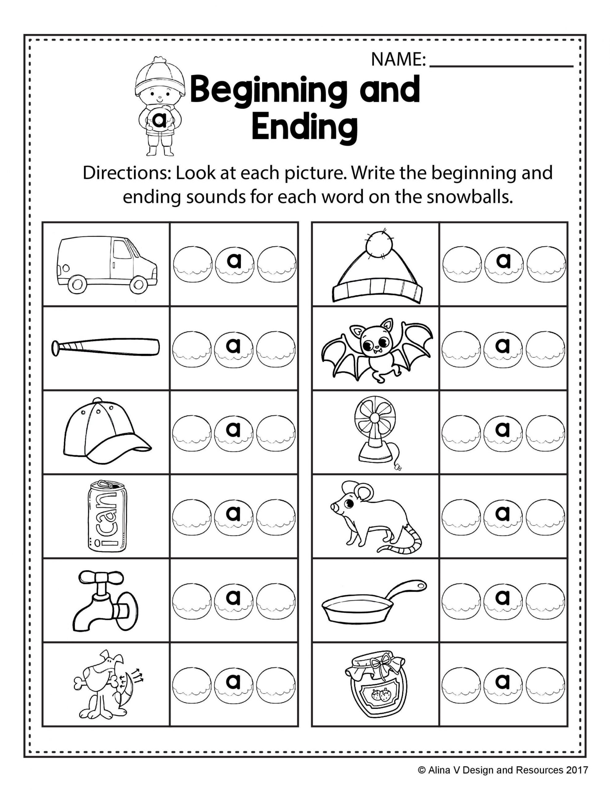Rhyming Words For Kindergarten Worksheets
