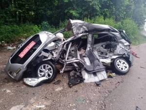 रुपन्देहीमा कार दुर्घटना हुँदा ३ जनाको मृत्यु